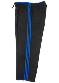Adidas Signature Cyclone Lined Wind Track Pants Black Blue Mens