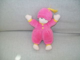 "North American Bear Kitchy Koo Baby Doll 6 "" Pink 1988"