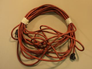 CE Company 50 Foot Extension Cord 16 3 Orange Medium Duty Interior Exterior