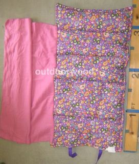 John Deere Pink Purple Child Care Nap Mat for Day Care