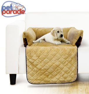 Pet Parade Quilted Couch Pet Bed