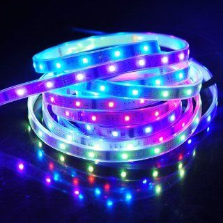 Supernight™ 5M 16 4ft 5050 RGB 150LED Waterproof Dream Color 6803 IC Strip Light
