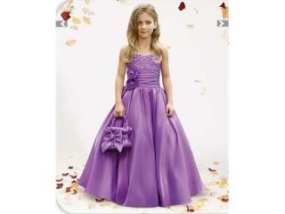 Flower Girl's Dress Wedding Dress Bridal Party Prom Lovely Children Dress Formal