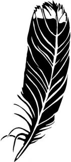 Native American Feather Vinyl Decal Sticker Car Truck Sign RV Window 154 03