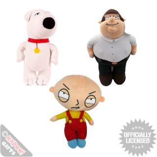Family Guy Soft Plush Toys Griffins Collectable Cool Comedy Games