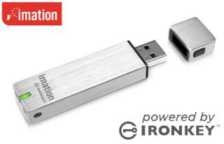 2GB Imation Ironkey S250 Scure USB Flash Pen Drive Memory Fips 140 2 L3