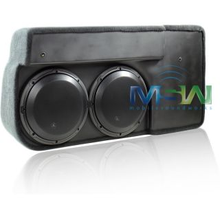 JL Audio SB GM SLVCC 10W3V3 DG Stealthbox® Chevy Silverado GMC Sierra 07 94360
