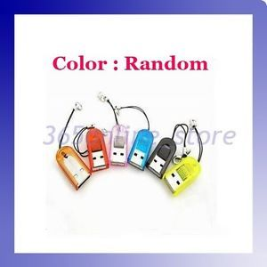 USB 2 0 TF T Flash Micro SD Memory Card Reader Colorful for PDA Phone  3201