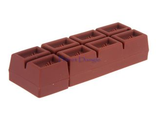 Chocolate Bar Design 4GB USB Flash Drive Pen Stick Memory
