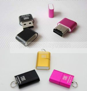 Mini High Speed USB 2 0 Memory Card Reader for TF T Flash Siyoteam SY T18