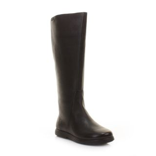 Womens camper Palerma Dry Black Leather Flat Ladies Knee High Boots Size 3 8