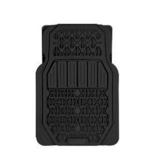 Rally 5180H Heavy Duty Black Rubber Universal Fit Car Floor Mat