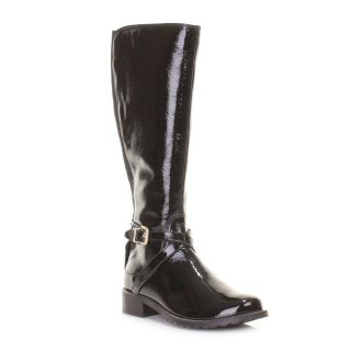 Clarks Boots for Women Nessa Clare Black Leather Knee High Wide Fit Size 5 10