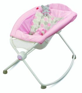 Fisher Price Newborn Baby Rock 'N Play Sleeper Rocker Pink BBK14