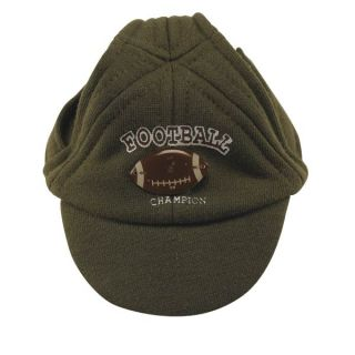 S New Green Football Hat Dog Cap Sports Small New Sale
