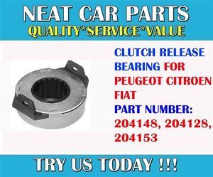 Peugeot J5 Bus Flatbed Box 1 8 2 0 2 5 D 2 5 TD Clutch Release Bearing 204153