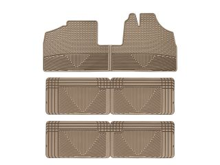 Weathertech® All Weather Floor Mats 1999 2004 Honda Odyssey Tan