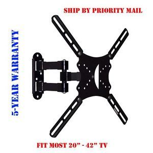 Full Motion Articulating Swivel Tilt TV Wall Mount 20 22 26 32 36 40 42 LED LCD