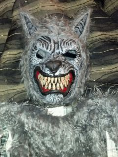 Ani Motion Werewolf Mask and Full Costume Full Moon Madness Wolf Costume