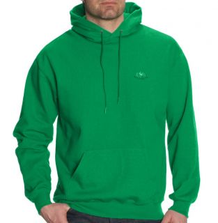 New Fruit of The Loom Men's Hooded Sweatshirt Green Hoodie Top s M L XL XXL