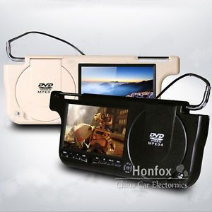 7 0 inch TFT LCD Screen Car Sun Visor DVD Player with Game FM Transmitter