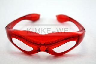 Spider Man LED Flashing Light Up Glasses Slotted Shutter Shades New