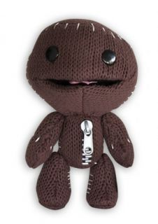 "Little Big Planet 12"" Plush Doll Happy Sackboy"
