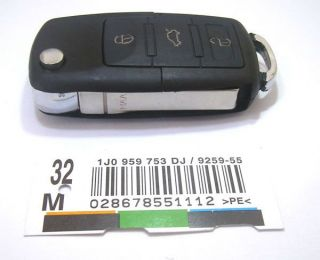 Remote Key Case Fob for VW Beetle Jetta Passat Golf Git