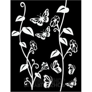 GPS 047 Flower Graphic Art Wall Decor Decal Point Sticker