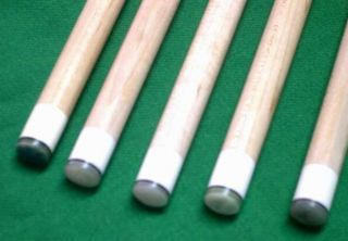 Doctor Cheng New G10 Phenolic Jump Break Billiards Pool Cue Tip 5pcs