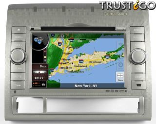 Toyota Tacoma in Dash GPS Navigation Radio DVD Bluetooth Touch Screen USB Stereo