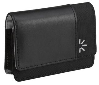 "Garmin 4 3"" GPS Black Magnetic Closure Leather Carrying Case New"