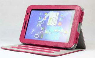 "Leather Case Cover Pouch for 7"" inch Samsung Galaxy Tab 2 P3100 P3110 B Style"