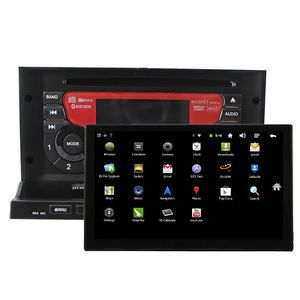 "2 DIN in Dash Car DVD Player Andriod 2 3 Head Unit GPS Nav 7"" Tablet PC 3G WiFi"