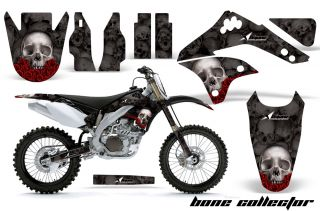 AMR Dirt Bike Graphics Kit KXF450 Kawasaki KX450F 06 08