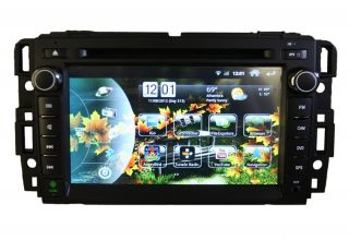 Android Multimedia Navigation Navi GPS DVD in Dash Car Radio GMC Sierra Chevy