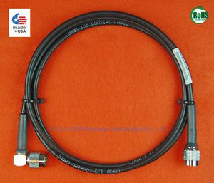 Trimble 41300 02 GPS Antenna Cable 1 8 Meter TNC Right Angle TNC Times LMR 195