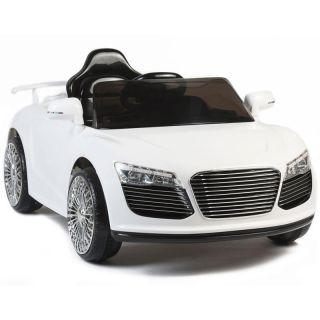 Audi R8 Style 12V Kids Ride on Car Electric Powered Wheels Remote Control White