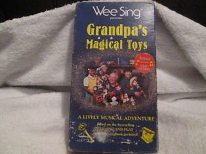 Wee Sing Grandpa's Magical Toys Kids OOP RARE VHS Video