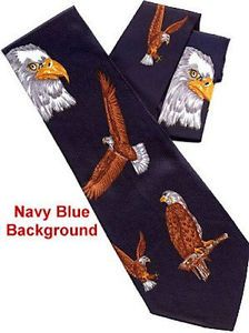 American Bald Eagle Eagles Neck Tie 720B