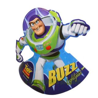 6X Disney Toy Story 3 Buzz Figure Birthday Party Cone Hats S789