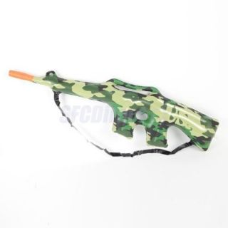 Great for Kids Boys Militray Camouflage Carbine Rifle Gun Inflatable Blow Up Toy