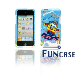 Spongebob Squarepants iPod Touch 4 Hard Case with Faceplate Snap on US Seller