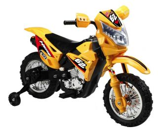 Kids Battery Power Ride on Motorcycle Dirtbike Wheels Riding Toy Motocross Bike