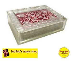 New Crystal Treasure Box Royal Magic Classic Card Magic for Kids Magic Kids Toys