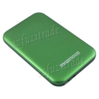 "HQ Matte USB 2 0 2 5"" SATA HD HDD Hard Drive Disk Case Caddy External Enclosure"