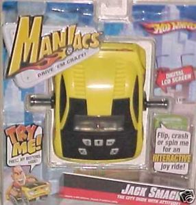 New Hot Wheels Toy Maniacs Car Toys Electronic Game