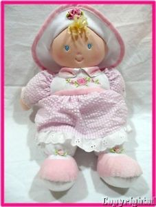 Kids Preferred Sofia First Doll Pink Seersucker Dress Rose Hat Soft Toy