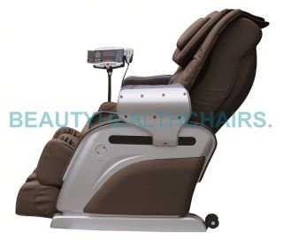 New Beautyhealth BC 10D Recliner Shiatsu Massage Chair Built in Heat BT MD E05