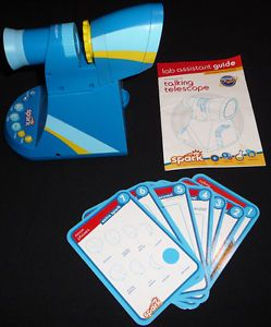 Discovery Kids Talking Telescope Universe Science Toy Spark Educational Insights